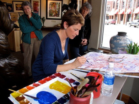 Pat Howard will lead a 3-day workshop at Sorrel Sky Gallery.