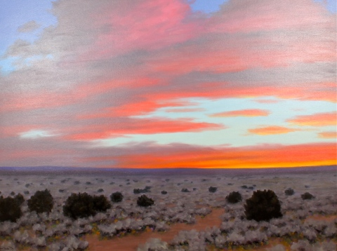 """A Northern New Mexico Evening"" by Stephen Day"