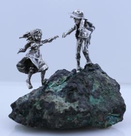 Boy and Girl on Malachite Star Yorksmall