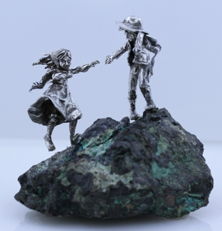 Boy and Girl on Malachite Star Yorksmall