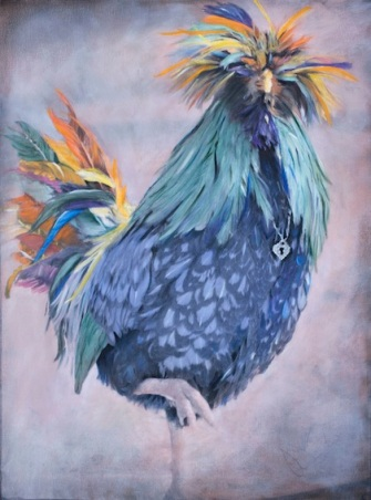 Wild Rooster With Bling 6_Gummersall