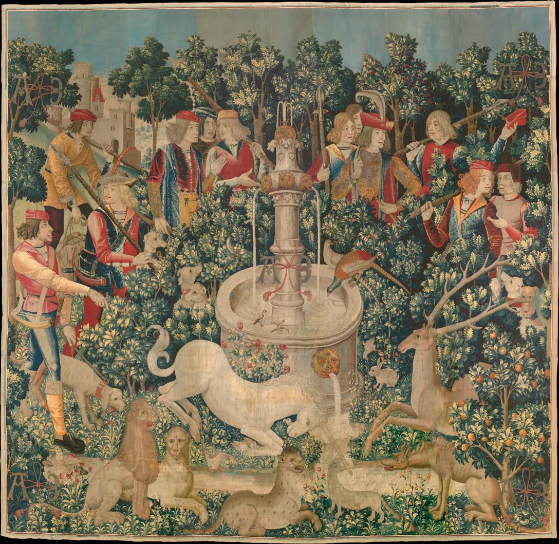 The Hunt of the Unicorn 1495-1505 Metropolitan Museum of Art NYC.jpg