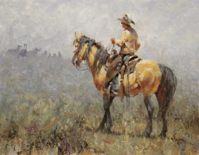 SSG-Jim Rey-In the Land of the Wild Ones 14x11 Oil.jpg