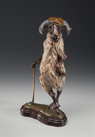 SSG-Susan Norris-Hamish McSmug 14 inches Bronze .jpg