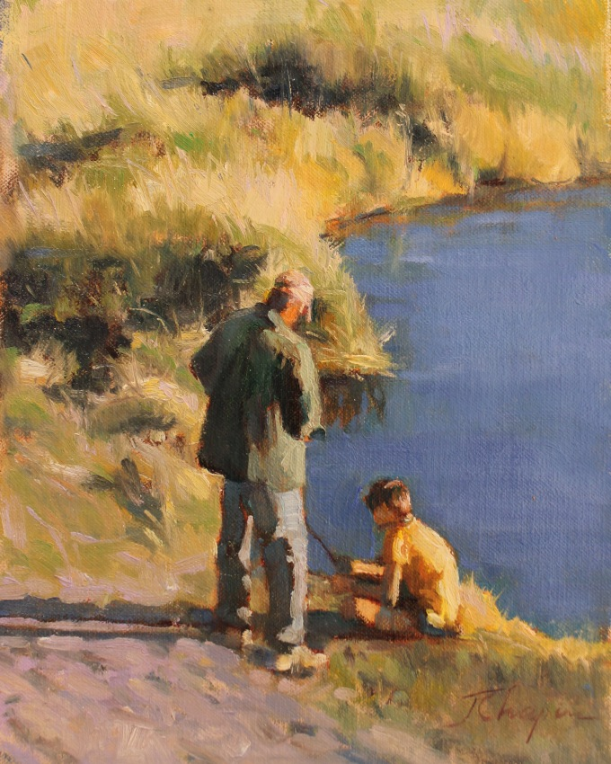 SSG-Jane Chapin-Time With Dad-Oil 8x10.jpg