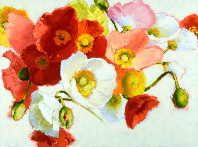 SSG-Shirley Novak-Colorful Faces-Acrylic on Canvas 30x40.jpg