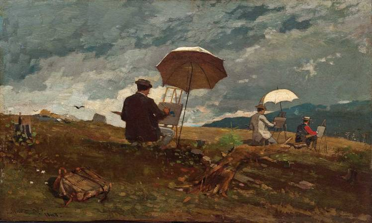 Winslow_Homer_-_Artists_Sketching_in_the_White_Mountains_Portland Museum of Art Portland Maine.jpg