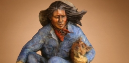 """Cowboys and Cowgirls"" with sculptor Star Liana York"
