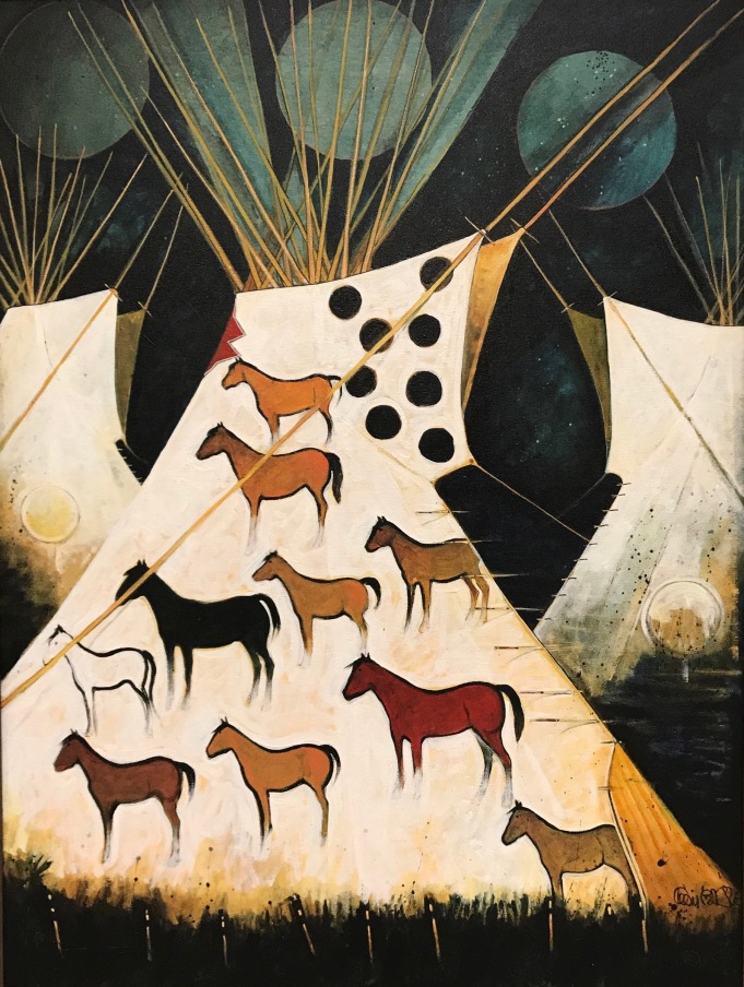 SSG-Kevin Red Star-Horse Lodge-Acrylic on Canvas 40x30.jpg