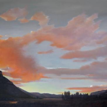 Animas Valley Sunset by Jim Bagley as seen at Sorrel Sky Gallery